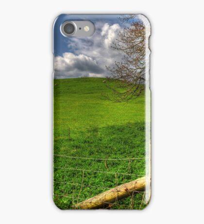 Green Hill iPhone Case/Skin