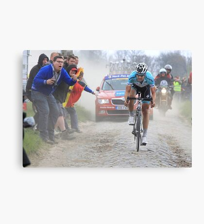 Tom Boonen Canvas Print