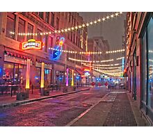 East 4th Photographic Print