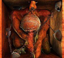 Ecce Homo 66 - Am Schopfe by Polygonist