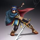 Marth by hybridmink