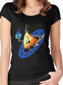 Bill Cipher Women's Fitted Scoop T-Shirt