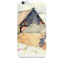 Edgmond Barn iPhone Case/Skin