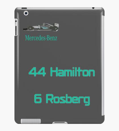Mercedes AMG F1 2016 - Rosberg Hamilton iPad Case/Skin