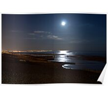 Moonlit Reflections Poster