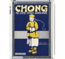 Chong from Hong Kong iPad Case/Skin