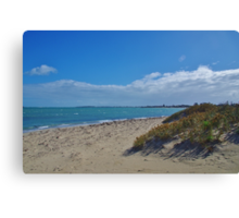 On The Sea Shore - Shoalwater Canvas Print