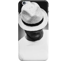 Solo - A Portrait in Black and White iPhone Case/Skin