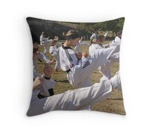Kick it up Throw Pillow