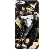 Shelock in a Flower Crown iPhone Case/Skin