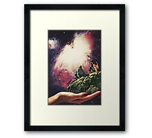 DON'T LOOK DOWN. Framed Print
