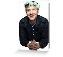 Martin Freeman John Watson The Hobbit Greeting Card