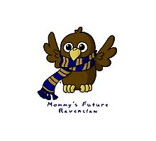 Mommy's Future Ravenclaw Photographic Print