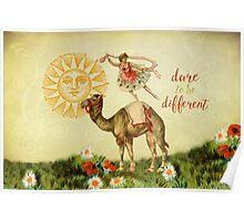 Dancer on Camel Poster