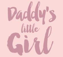 Daddy's little girl Kids Tee