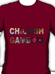 Childish Gambino Album Collage  T-Shirt