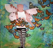 Butterflies in her stomach by Karen Scrimes