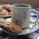 Grandma's Coffee Cookies (still life) by Stephen Thomas