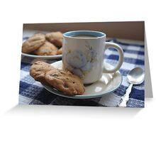 Grandma's Coffee Cookies (still life) Greeting Card