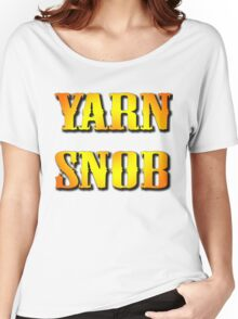 YARN SNOB Women's Relaxed Fit T-Shirt