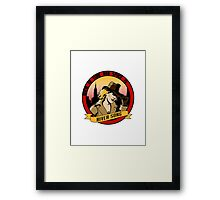Where In Time and Space Is River Song? Framed Print