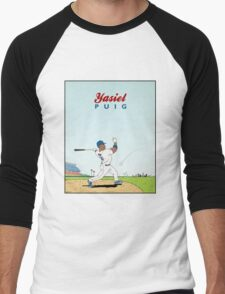 Yasiel Puig Men's Baseball ¾ T-Shirt