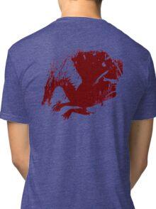 Dragon Grunge Tri-blend T-Shirt