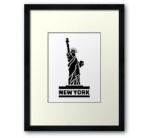 New York Statue of Liberty Framed Print