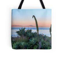 Morning Walk at San Antonio Del Mar Mexico Tote Bag