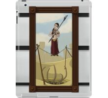Princess Leia on the Wire iPad Case/Skin