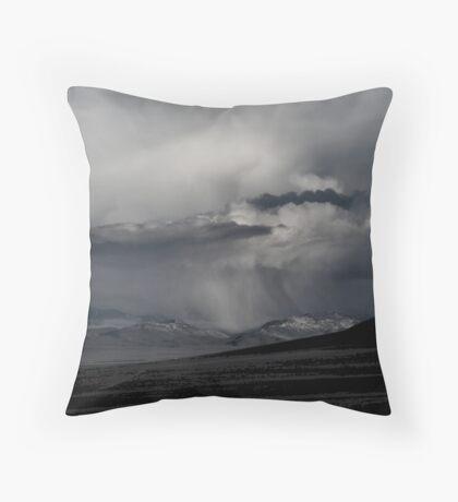 Thunder Being Throw Pillow