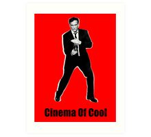 Cinema Of Cool - Tarantino Art Print