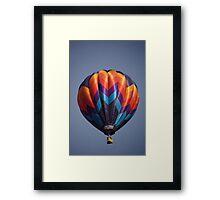 Rainbow balloon Framed Print