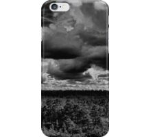 Storm is about to start iPhone Case/Skin