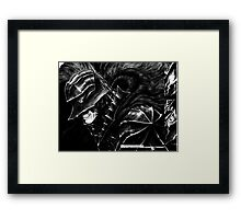 guts-y move Framed Print