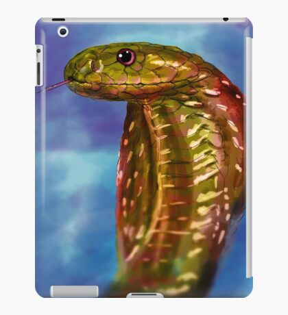 Colored snake iPad Case/Skin