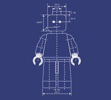 Everything is Awesome - Lego Blueprint Unisex T-Shirt
