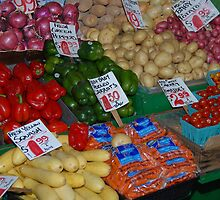 fruit market 2 by Gale Distler