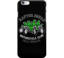 Raptor Squad Motorcycle Club iPhone Case/Skin