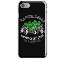 Raptor Squad Motorcycle Club iPhone Case/Skin