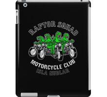 Raptor Squad Motorcycle Club iPad Case/Skin