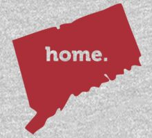 Connecticut Home Red by USAswagg