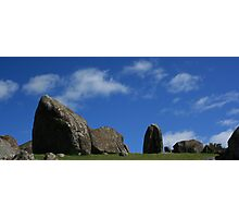 Stones at Stoney Batter Waiheke  Photographic Print