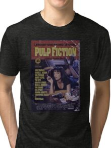 Pulp Fiction Poster Tri-blend T-Shirt