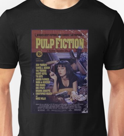 Pulp Fiction Poster Unisex T-Shirt