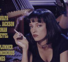 Pulp Fiction Poster Sticker