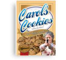 Famous Carol's Cookies Canvas Print