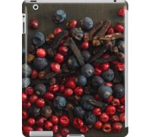 Different spice berries  iPad Case/Skin
