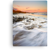 Sunset Tides Canvas Print