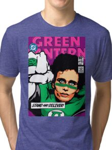 Post-Punk Super Friends - Green Tri-blend T-Shirt